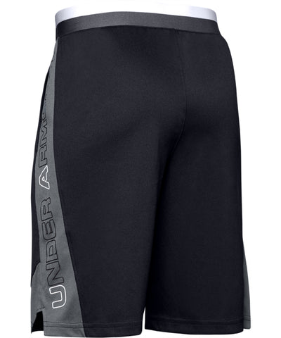 UNDER ARMOUR STUNT 2.0 KID'S SHORTS - BLACK/GREY