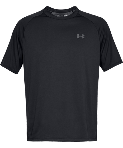 UNDER ARMOUR TECH MEN'S T SHIRT - BLACK