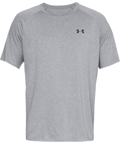 UNDER ARMOUR TECH MEN'S T SHIRT - GREY