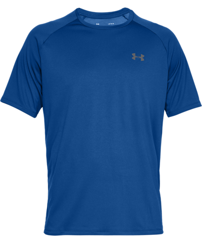 UNDER ARMOUR TECH MEN'S T SHIRT - BLUE