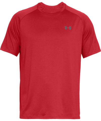 UNDER ARMOUR TECH MEN'S T SHIRT - RED