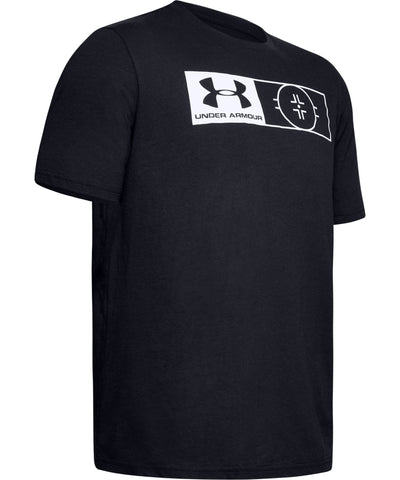UNDER ARMOUR UA HOCKEY AUTHENTICATOR MEN'S T SHIRT - BLACK
