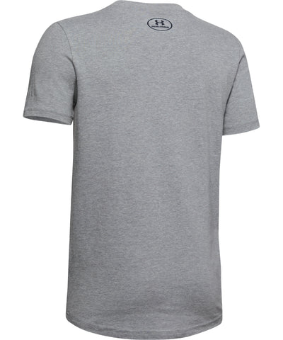 UNDER ARMOUR UA HOCKEY KID'S T SHIRT - GREY