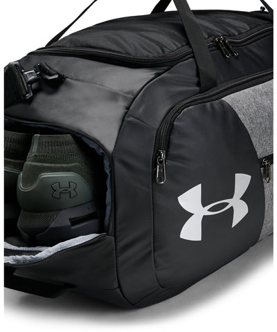 UNDER ARMOUR UNDENIABLE DUFFLE 4.0 MD - BLACK/GREY