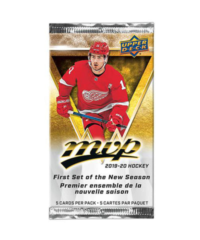 UPPER DECK MVP 2020 HOCKEY CARDS
