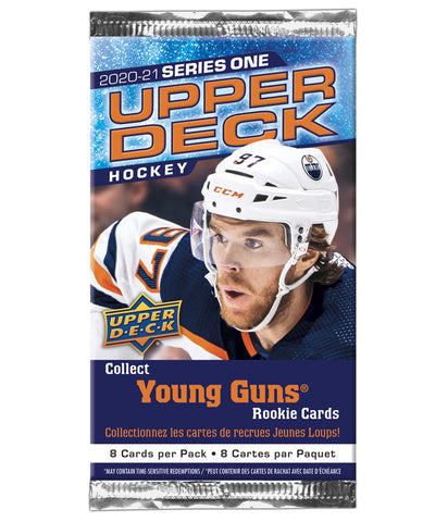 UPPER DECK SERIES 1 2021 HOCKEY CARDS