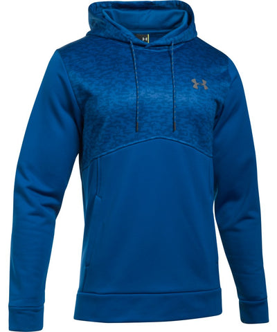 UNDER ARMOUR AF HOODIE DIGI TEXTURE ROYAL