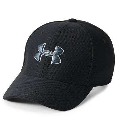 UNDER ARMOUR BOY'S BLITZING 3.0 CAP - BLACK