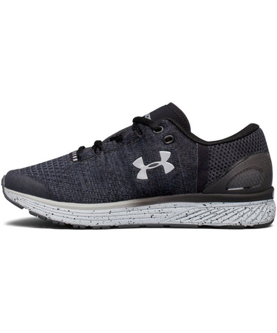 UNDER ARMOUR KID'S BGS CHARGED BANDIT 3 RUNNING SHOES - BLACK
