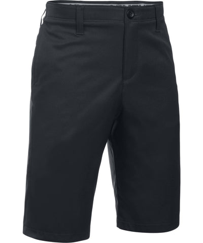 UNDER ARMOUR KID'S MATCH PLAY SHORTS - BLACK