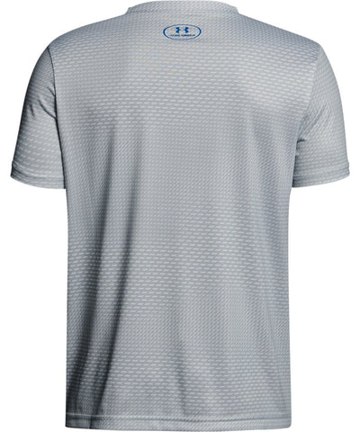 UNDER ARMOUR KID'S PRINTED CROSSFADE T SHIRT - GREY