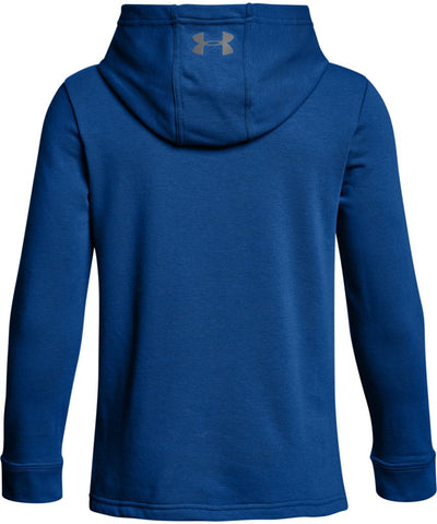 UNDER ARMOUR THREADBORNE KID'S 1/2 ZIP HOODIE - BLUE