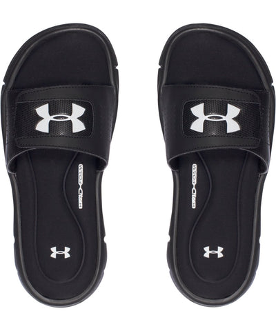 UNDER ARMOUR KID'S UA IGNITE V SANDALS - BLACK