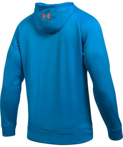 UNDER ARMOUR MEN'S AF WORDMARK PO HOODIE - BLUE
