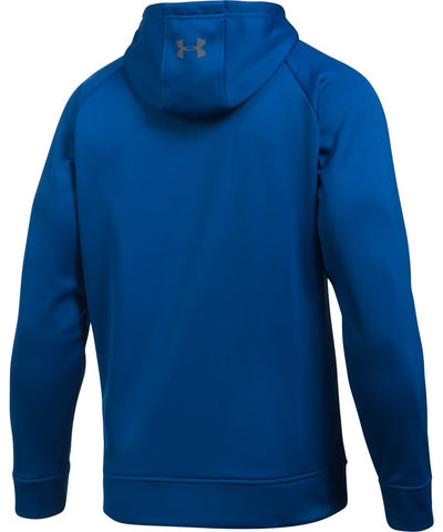 UNDER ARMOUR MEN'S AF WORDMARK PO HOODIE - ROYAL