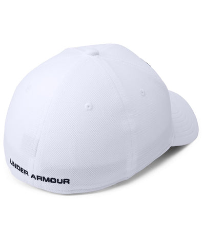 UNDER ARMOUR MEN'S BLITZING 3.0 CAP - WHITE