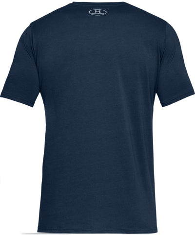UNDER ARMOUR MEN'S BOXED SPORTSTYLE T SHIRT - NAVY