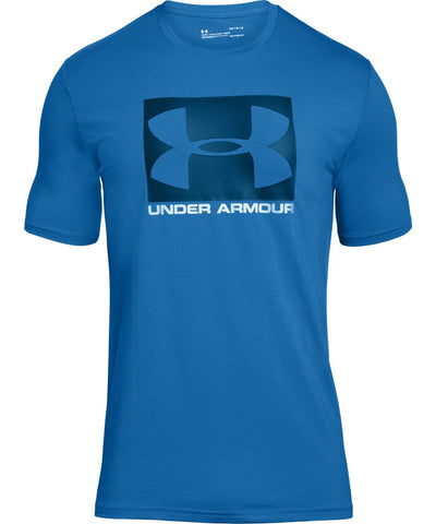 UNDER ARMOUR MEN'S BOXED SPORTSTYLE T SHIRT - BLUE