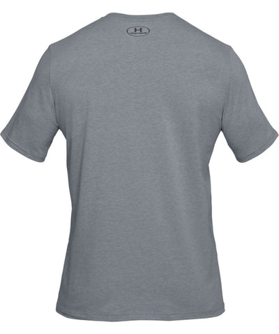 UNDER ARMOUR MEN'S BOXED SPORTSTYLE T SHIRT - GREY
