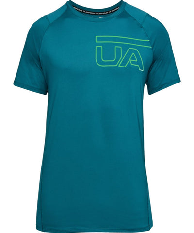 UNDER ARMOUR MEN'S MK1 GRAPHIC T SHIRT - GREEN