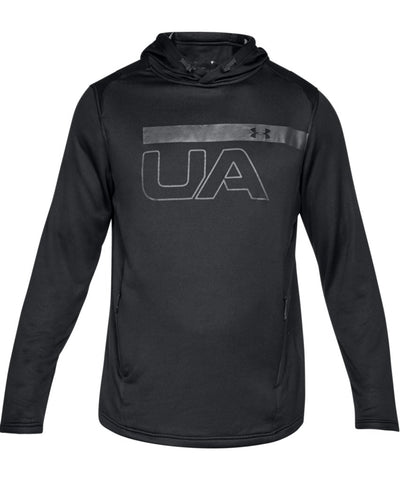 UNDER ARMOUR MEN'S MK1 TERRY GRAPHIC HOODIE - BLACK