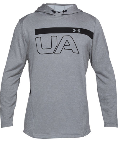 UNDER ARMOUR MEN'S MK1 TERRY GRAPHIC HOODIE - GREY