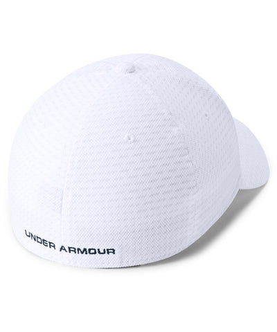 UNDER ARMOUR MEN'S PRINTED BLITZING 3.0 CAP - WHITE