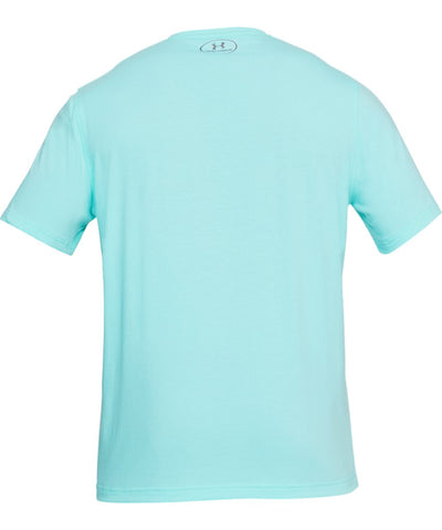 UNDER ARMOUR MEN'S Q2 BRANDED LEFT CHEST T SHIRT - BLUE