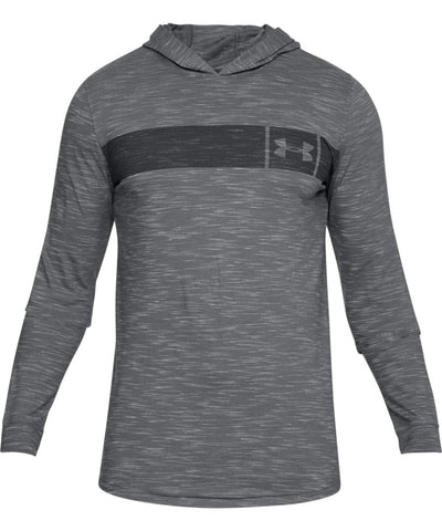 UNDER ARMOUR MEN'S SPORTSTYLE CORE HOODIE - GREY