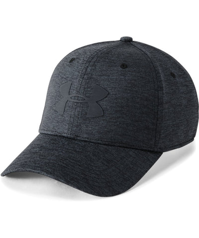 UNDER ARMOUR MEN'S TWIST CLOSER 2.0 CAP - BLACK