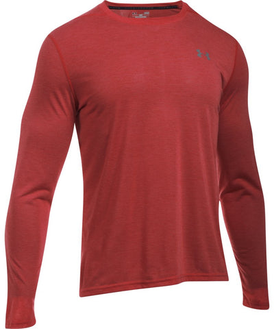 UNDER ARMOUR MEN'S UA THREADBORNE LS- RED