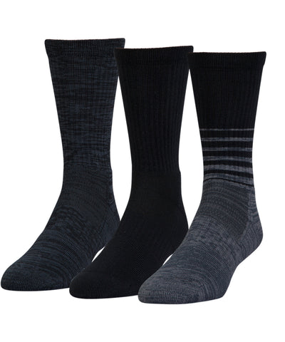 UNDER ARMOUR PHENOM TWISTED MEN'S SOCKS - 3 PACK