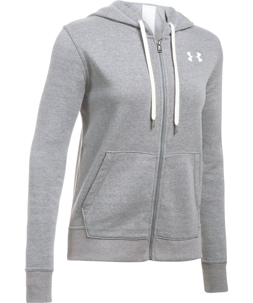 UNDER ARMOUR WOMEN S FAVORITE FLEECE FULL ZIP HOODIE - CARBON – Pro Hockey  Life 9dfb53d518