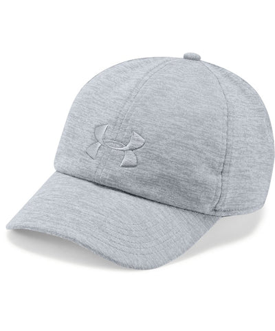 UNDER ARMOUR WOMEN'S TWISTED RENEGADE CAP - GREY
