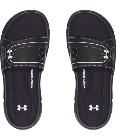 UNDER ARMOUR WOMEN'S UA IGNITE VIII SANDALS - BLACK