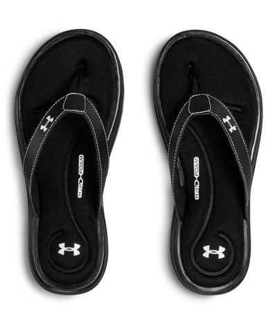 UNDER ARMOUR WOMEN'S UA MARBELLA VI SANDALS - BLACK