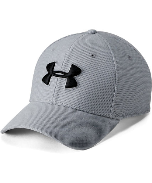 UNDER ARMOUR MEN S HEATHERED BLITZING 3.0 CAP - GREY e70b426b3bd