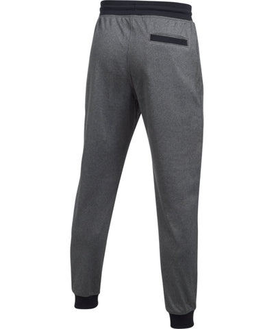 UNDER ARMOUR MEN'S SPORTSTYLE TRICOT JOGGER PANTS - GREY