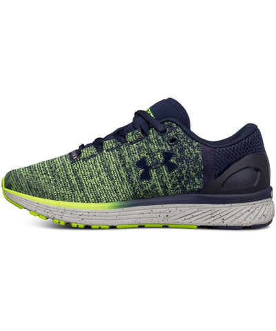 UNDER ARMOUR KID'S BGS CHARGED BANDIT 3 RUNNING SHOES - NAVY