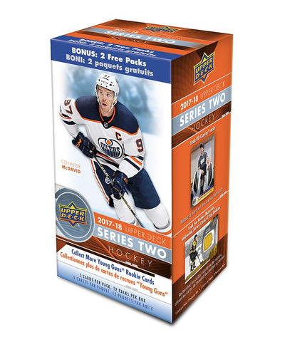 UPPER DECK SERIES 2 2017-2018 NHL HOCKEY CARD BLASTER