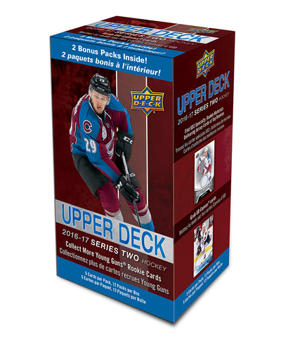 UPPER DECK SERIES 2 2016-2017 NHL HOCKEY CARD BLASTER