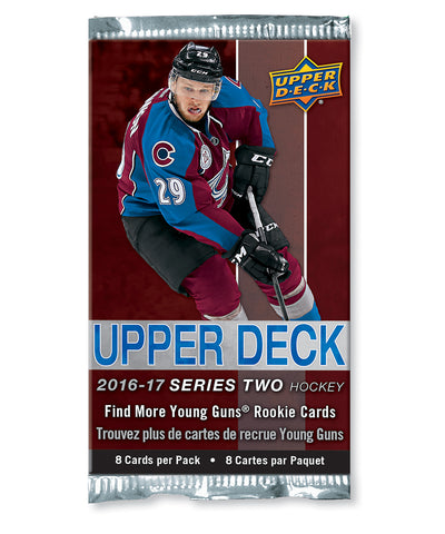 UPPER DECK SERIES 2 2016-2017 NHL HOCKEY CARDS