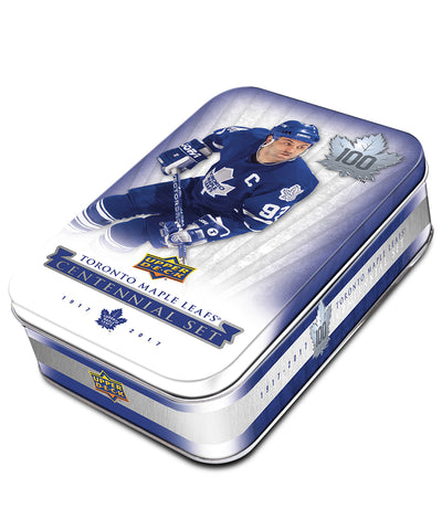 UPPER DECK TORONTO MAPLE LEAFS CENTENNIAL TIN NHL HOCKEY CARDS