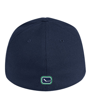 VANCOUVER CANUCKS ADIDAS MEN'S NHL COACH STRUCTURED FLEX HAT