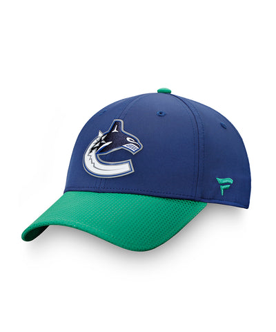 VANCOUVER CANUCKS FANATICS MEN'S AUTHENTIC PRO 2019 NHL DRAFT HAT