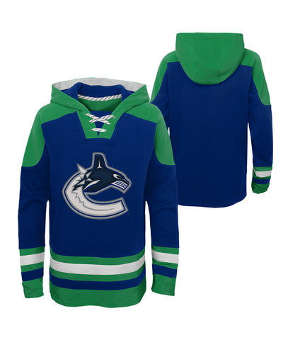 VANCOUVER CANUCKS KID'S AGELESS MUST HAVE LACER HOODIE