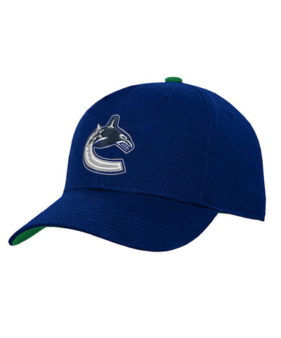 VANCOUVER CANUCKS KID'S PRIMARY LOGO HAT
