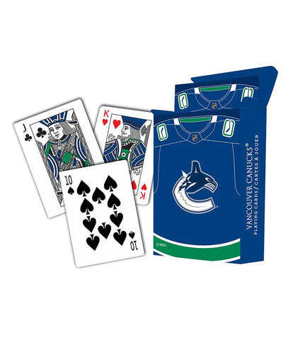 VANCOUVER CANUCKS PLAYING CARDS