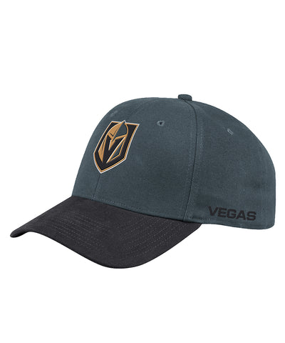 VEGAS GOLDEN KNIGHTS ADIDAS MEN'S STRUCTURED FLEX LEFT CITY HAT