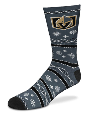 VEGAS GOLDEN NIGHTS MEN'S SNOWFLAKE SOCKS